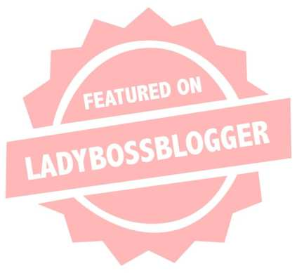 Featured on LBB badge PINK